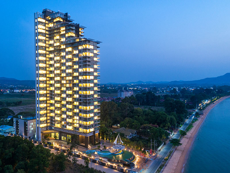 DEL MARE Beachfront Condo BangSaray