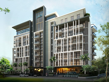 Condos Developing Project in Wong Amat, Pattaya